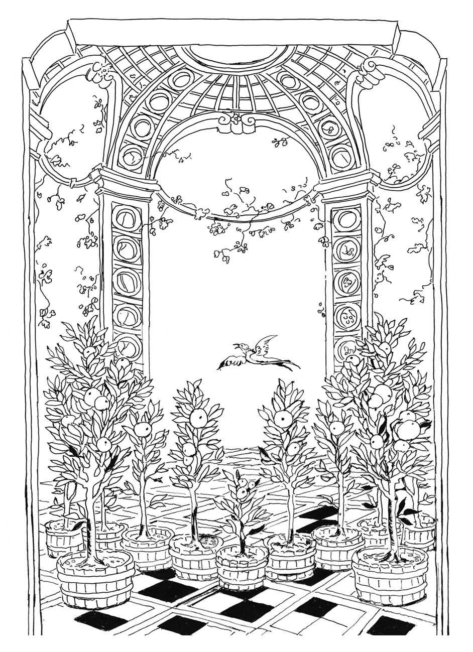 Lost Garden Pippa Rossi Orangerie About An Interview With Color Book